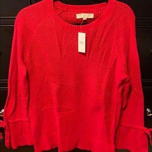 Red Loft sweater ❤️
